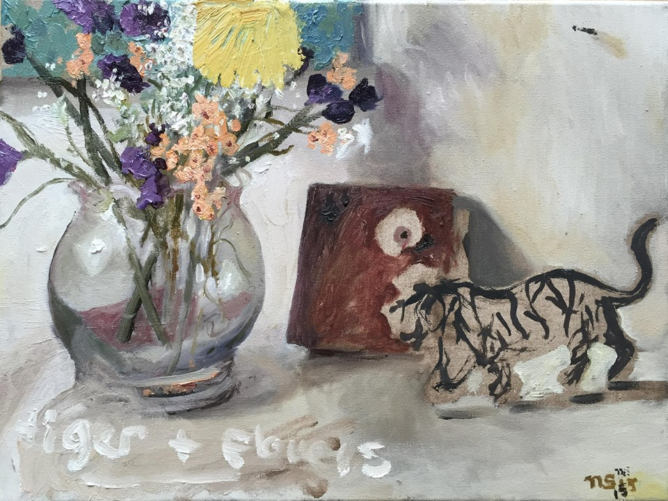 tiger_and_flowers